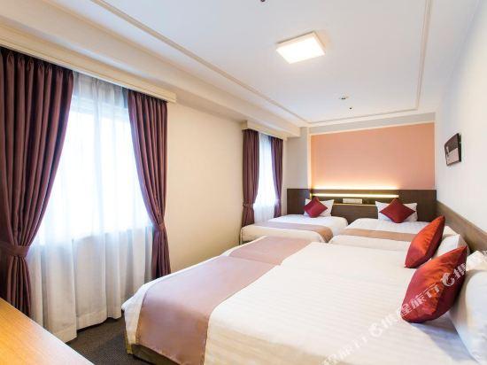 新阪急酒店別館(Hotel New Hankyu Osaka Annex)四人房