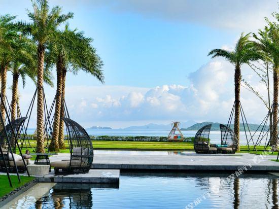 深圳佳兆業萬豪酒店(Shenzhen Marriott Hotel Golden Bay)眺望遠景
