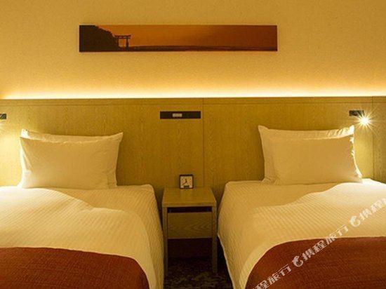 新宿花JR九州酒店(Jr Kyushu Hotel Blossom Shinjuku)尊貴雙床房