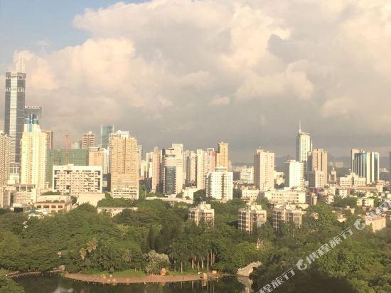 深圳寰宇大酒店(Shenzhen Universal Hotel)眺望遠景