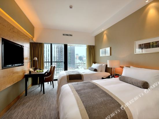 珠海竹林酒店(Bamboo Plaza Zhuhai)高級雙床房