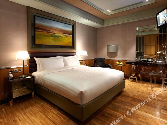 台北怡亨酒店(Hotel éclat)尊榮九號客房雙人房