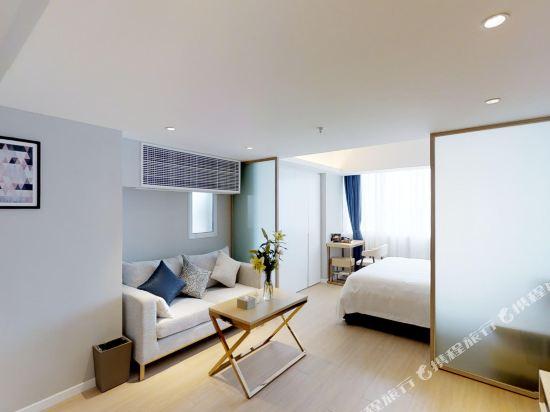 上海奕鄰66酒店(Ten66 Serviced Residences Supercity by Ariva)豪華套房