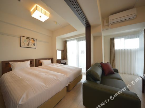Bureau四天王寺酒店(Bureau Shitennoji Hotel)至尊景行政套房