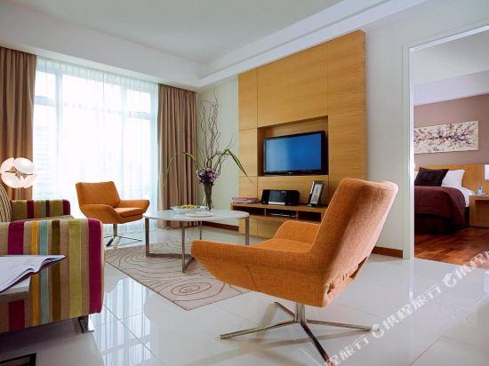 吉隆坡輝盛國際公寓(Fraser Place Kuala Lumpur)一卧室豪華露台公寓