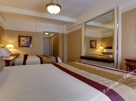 惠靈頓酒店(Wellington Hotel)標準兩張大床房