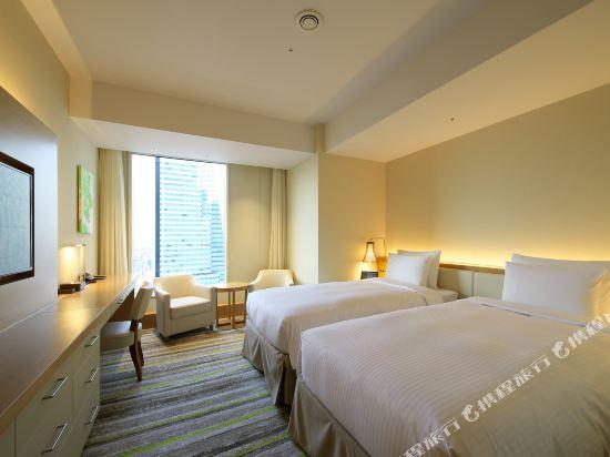 名古屋JR門樓酒店(Nagoya JR Gate Tower Hotel)豪華轉角雙床房