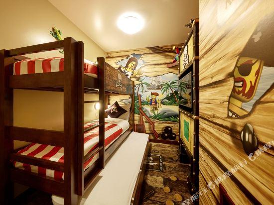日本樂高樂園酒店(Legoland Japan Hotel)海盜主題套房