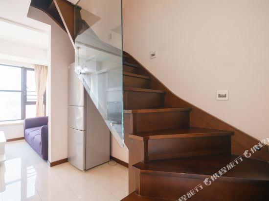 富米國際公寓(珠海華髮商都店)(Fumi Apartment Hotel (Zhuhai Huafa Mall))奢華複式兩房三床套房