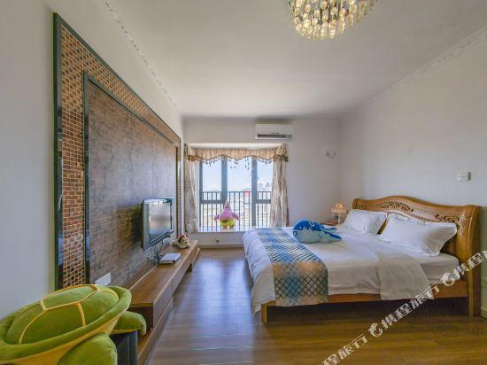 Q加·泰萊童趣主題公寓(珠海橫琴海洋王國店)(Q+ Tailai Tongqu Theme Apartment (Zhuhai Chimelong Ocean Kingdom))豪華大床套房