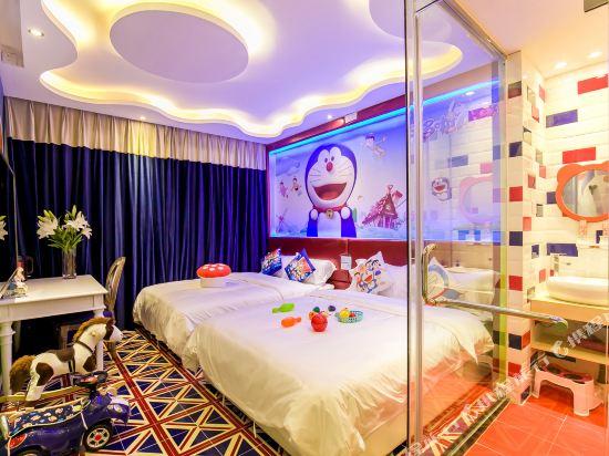 鮮住精品主題酒店(廣州野生動物園店)(原大石地鐵站店)(Xianzhu Boutique Theme Hotel (Guangzhou Wildlife Zoo))主題雙床房