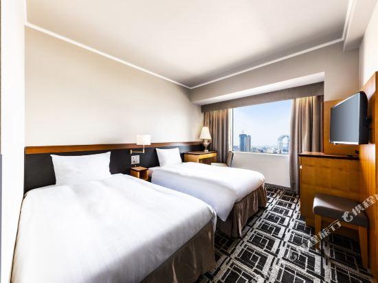 大阪阪神酒店(Hotel Hanshin Osaka)雙床房