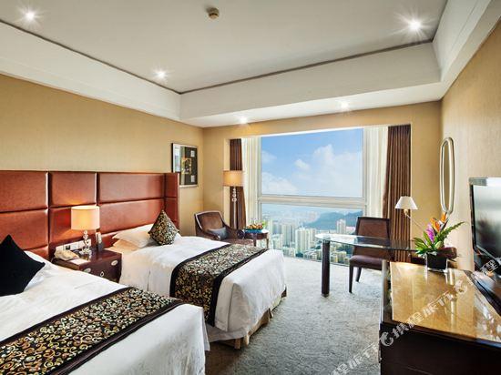 深圳百合酒店(Century Kingdom Hotel)零壓豪華雙床房