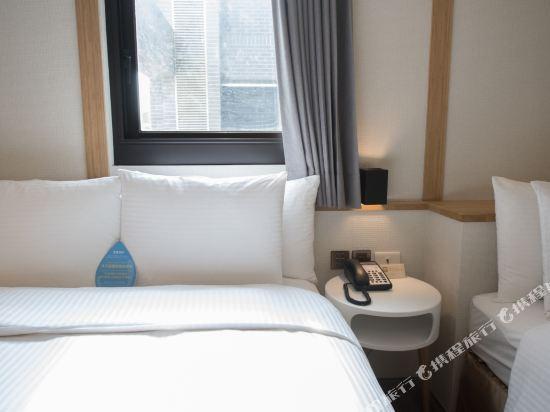 台中隱和旅(INNK Hotel)閣樓三人房