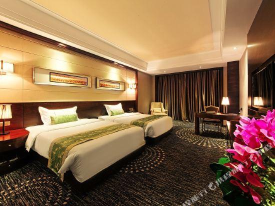 維納斯皇家酒店(佛山南海萬達廣場店)(原凱利萊國際酒店)(Venus Royal Hotel (Foshan Nanhai Wanda Plaza))標準雙床房(無窗)