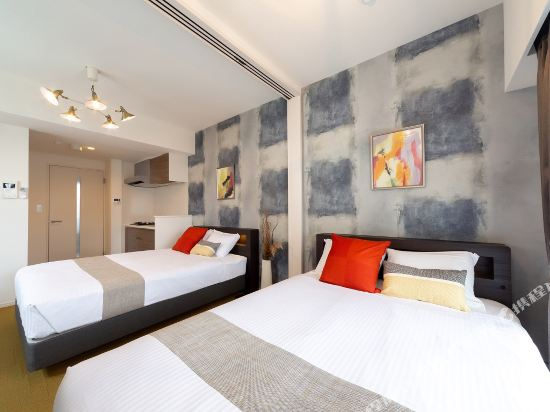 博多中央無限酒店(Infinity Hotel Hakata Chuo)豪華雙床房