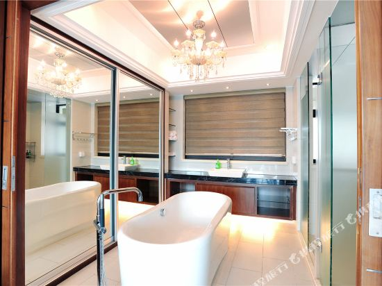富米國際公寓(珠海華髮商都店)(Fumi Apartment Hotel (Zhuhai Huafa Mall))奢華複式大床套房