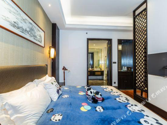 溧陽天目湖南山竹海客棧(御水温泉精品酒店)(Nanshan Zhuhai Inn)親子大床房