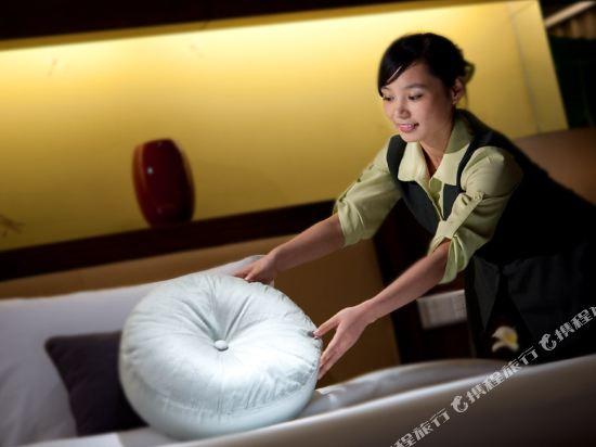東莞厚街國際大酒店(HJ International Hotel)名仕雙床房