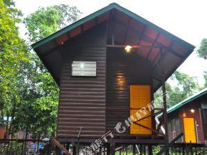 山打根基納巴唐岸陽光小屋(Kinabatangan Sunshine Lodge Sandakan)