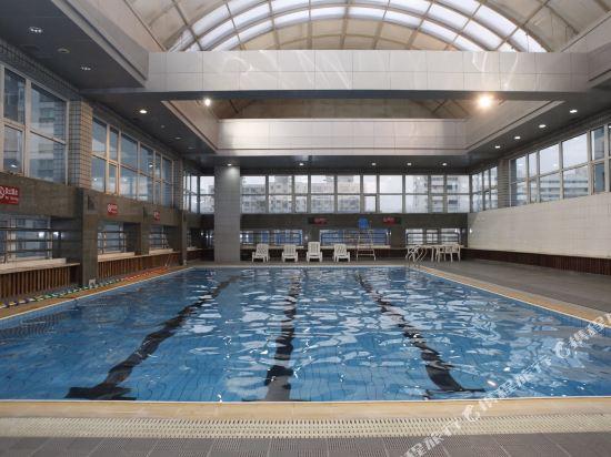 北京外國專家大廈(Foreign Experts Building)室內游泳池