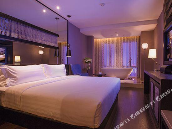 桔子水晶酒店(廣州白雲機場店)(原花都店)(Crystal Orange Hotel (Guangzhou Baiyun Airport))精選大床房