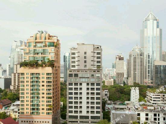 曼谷萬怡酒店(Courtyard by Marriott Bangkok)眺望遠景