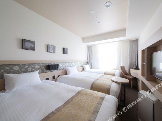 京阪澱屋橋酒店(Hotel Keihan Yodoyabashi)三人房(23平方米)