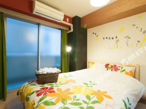 難波901心齋橋K&K F08單卧室公寓(K&K F08 1 Bedroom Apartment Shinsaibashi Namba 901)
