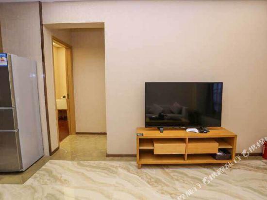 伊蓮·薩維爾國際酒店公寓(廣州珠江新城店)(ELAINE SAVILE HOTEL)豪華套房兩房一廳