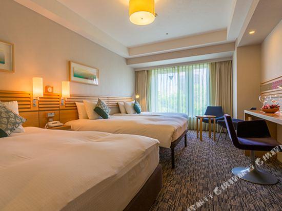 札幌三位神大酒店(Hotel Resol Trinity Sapporo)公園側三人房