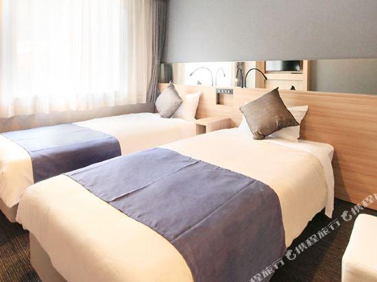 大阪心齋橋金塔酒店(Quintessa Hotel Osaka Shinsaibashi)中等雙床房