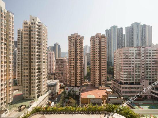 香港悅來酒店(Panda Hotel)眺望遠景