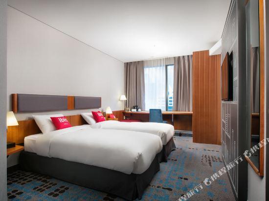 宜必思首爾明洞酒店(Ibis Ambassador Seoul Myeong Dong)標準雙床房
