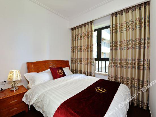 Q加·泰萊童趣主題公寓(珠海橫琴海洋王國店)(Q+ Tailai Tongqu Theme Apartment (Zhuhai Chimelong Ocean Kingdom))琴海灣精品二房套房