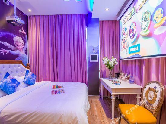 鮮住精品主題酒店(廣州野生動物園店)(原大石地鐵站店)(Xianzhu Boutique Theme Hotel (Guangzhou Wildlife Zoo))主題大床房