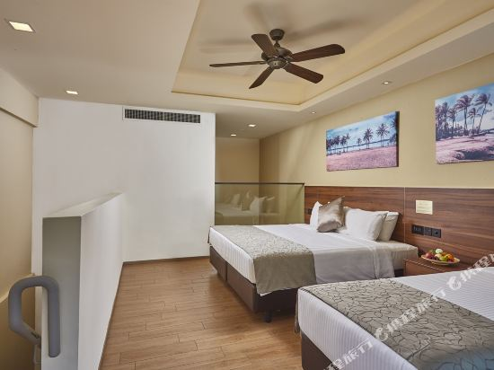 新加坡城東樂怡渡假村(D'Resort @ Downtown East Singapore)海灘灣複式房