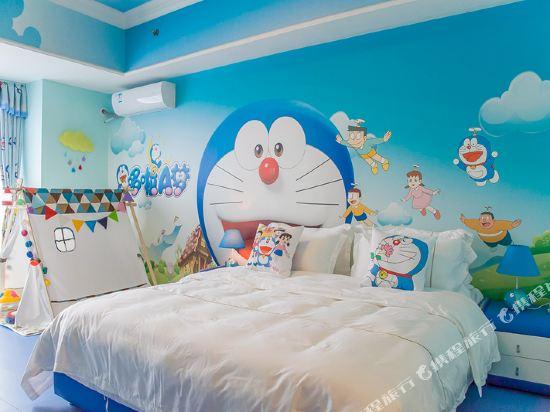 夢幻樂園親子主題公寓(廣州萬達廣場店)(Dreamland Family Theme Apartment (Guangzhou Wanda Plaza))哆啦A夢度假大床房