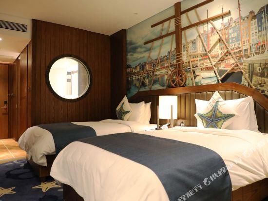 常州環球港郵輪酒店(Global Harbor Cruise Hotel)海港雙床房