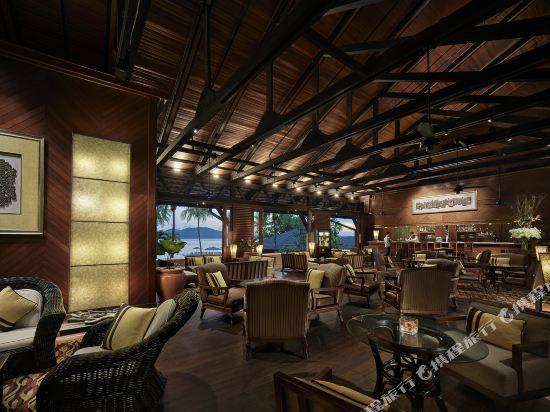 哥打京那巴魯香格里拉丹絨亞路酒店(Shangri-La's Tanjung Aru Resort & Spa Kota Kinabalu)酒吧