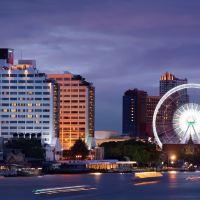 曼谷湄南河畔華美達廣場酒店酒店預訂