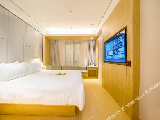 宿適輕奢酒店(上海大世界地鐵站店)(Sushe Qingshe Hotel (Shanghai Dashijie Metro Station))輕奢商務大床房