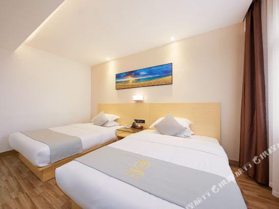 佰曼萊酒店·精選(廣州新白雲國際機場旗艦店)(Baimanlai Hotel Selected (Guangzhou New Baiyun International Airport))豪華雙床房