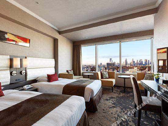 東京東急澀谷卓越大飯店(Shibuya Excel Hotel Tokyu Tokyo)卓越轉角雙床房