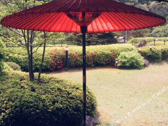 京都嵐山Ranzan酒店(Kyoto Arashiyama Ranzan Hotel)院子