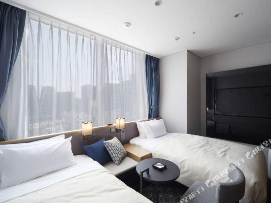 格拉斯麗首爾酒店(Hotel Gracery Seoul)標準雙床房