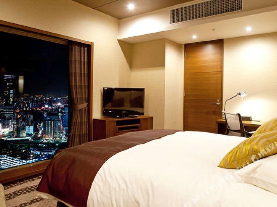 格蘭比亞大酒店(Hotel Granvia Osaka)格蘭比亞樓層高級大床房