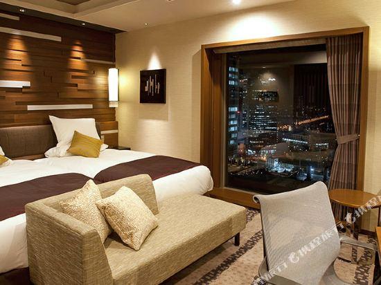 格蘭比亞大酒店(Hotel Granvia Osaka)格蘭比亞樓層中型雙床房