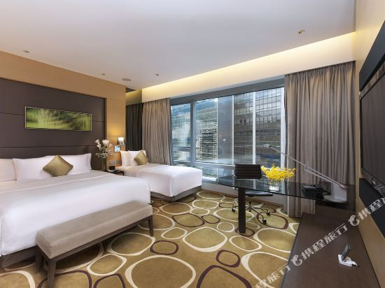 香港銅鑼灣皇冠假日酒店(Crowne Plaza Hong Kong Causeway Bay)家庭客房