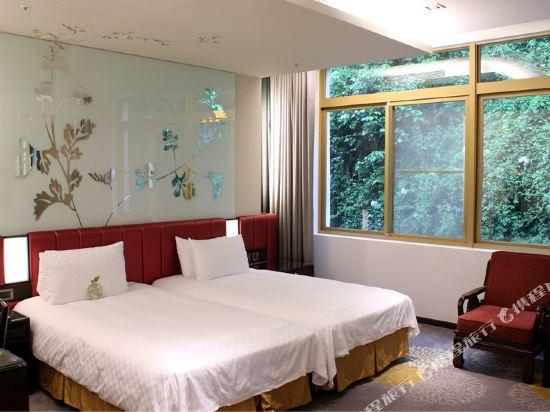 台北圓山大飯店(The Grand Hotel)麒麟面山客房